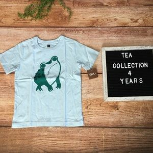 Tea Collection Frog Baby Graphic Tee 4T NWT
